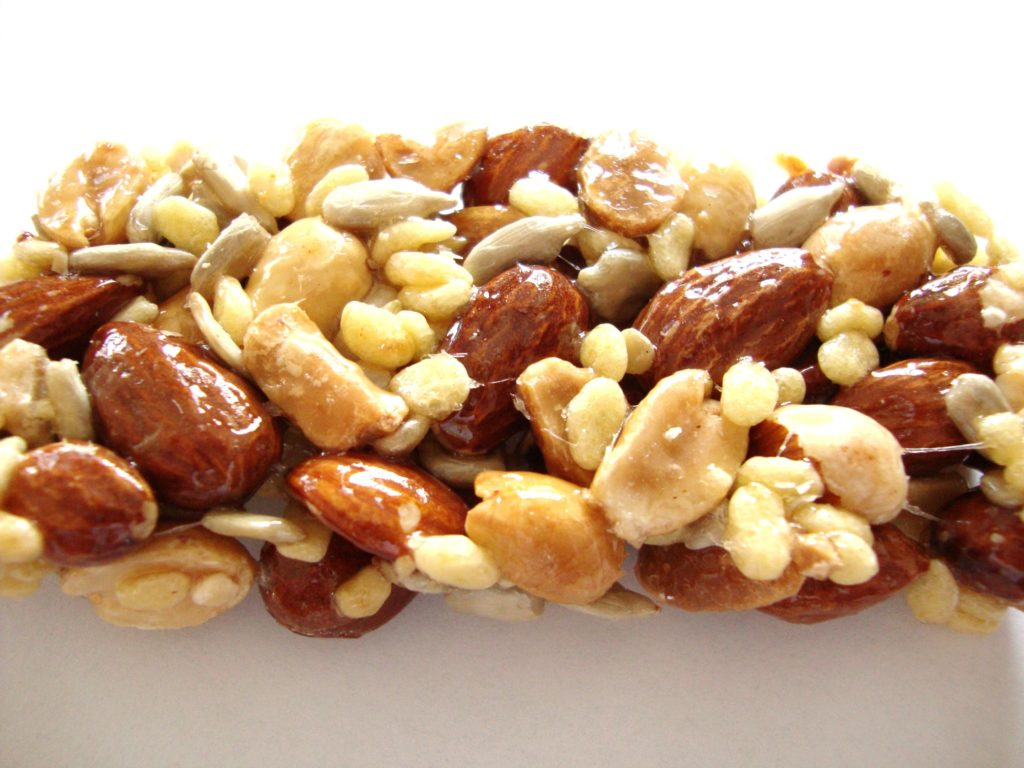Almond crunch bar