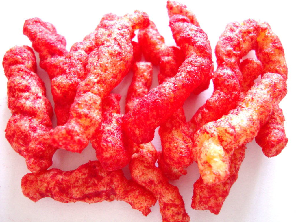 Cheetos Crunchy Flamin' Hot Limón Cheese Flavored Snacks