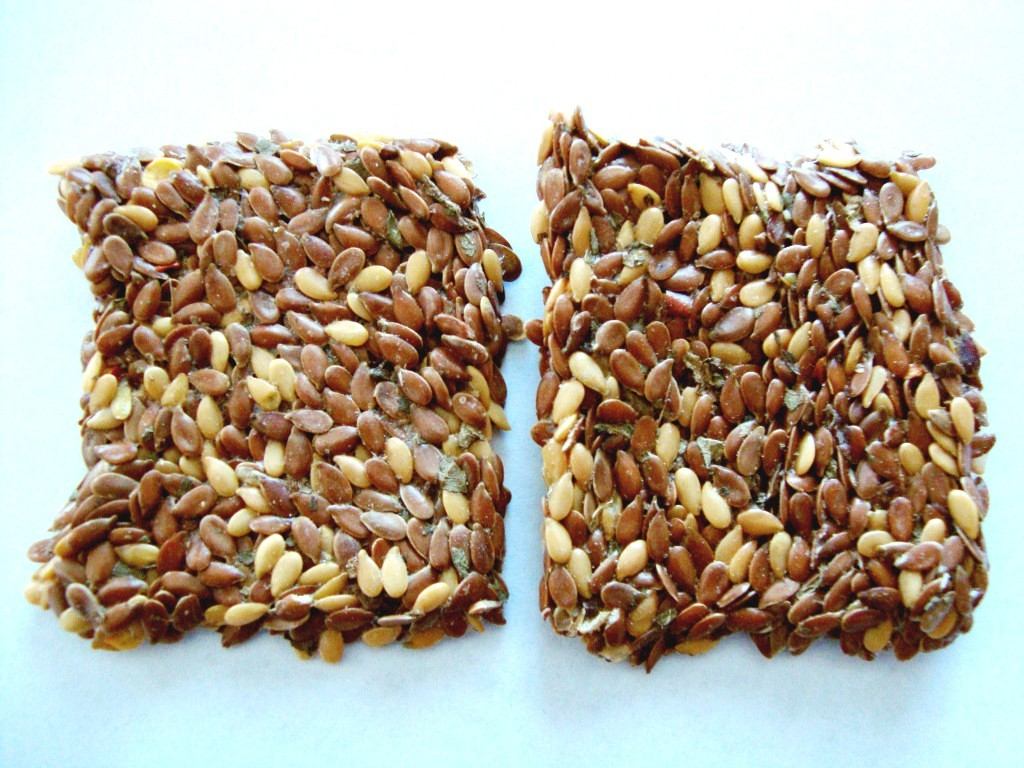 flackers Flax Seed Crackers, Savory