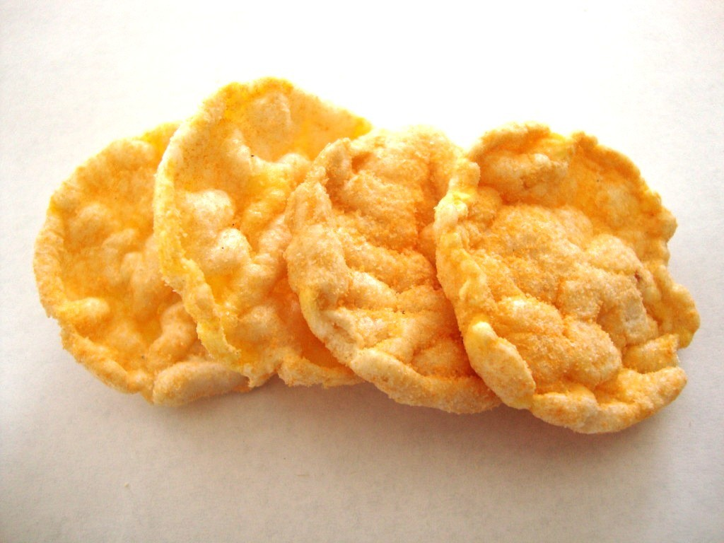 Quaker Popped Rice Snacks, Cheddar Cheese