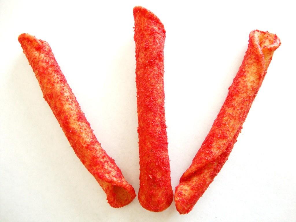 Takis Fuego, Hot Chili Pepper & Lime Flavored Corn Snacks