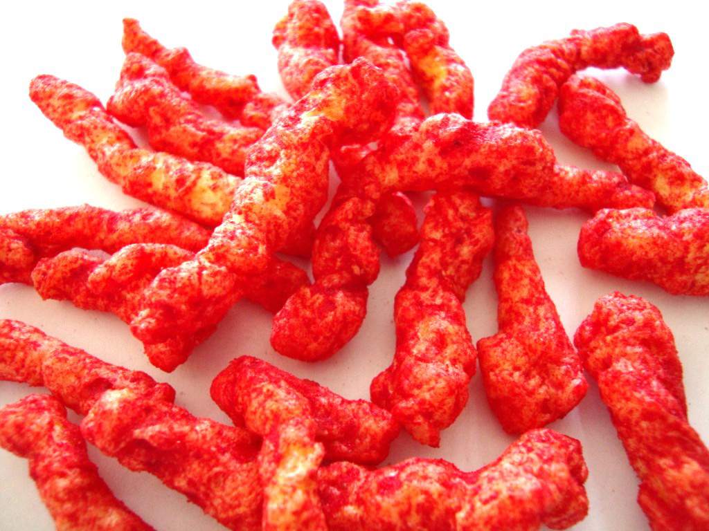 Click to Buy Cheetos Crunchy Flamin' Hot Cheese Flavored Snacks