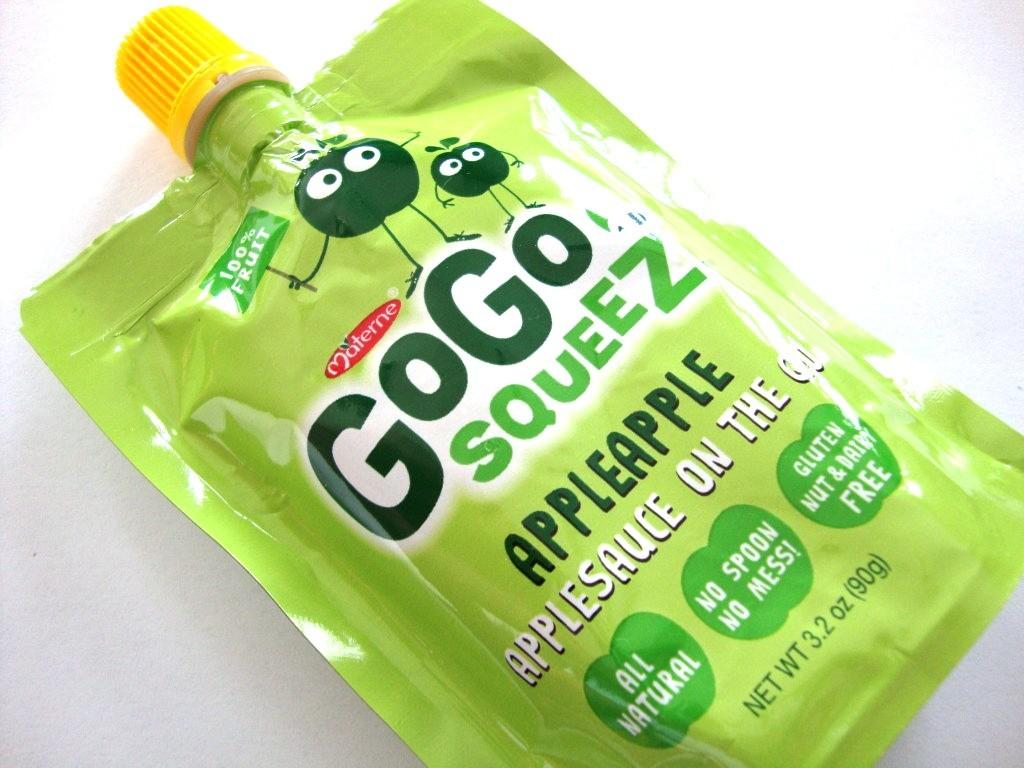 GoGo squeeZ Applesauce on the Go, AppleApple