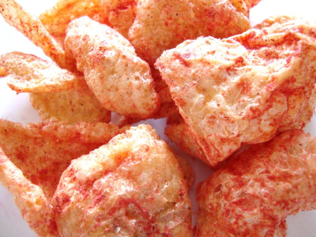 BAKEN-ETS Hot 'N Spicy Flavored Fried Pork Skins