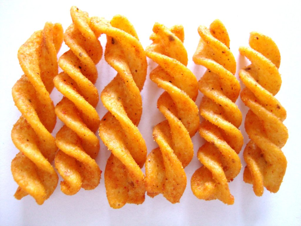 Fritos Honey BBQ Flavor Twists Corn Snacks