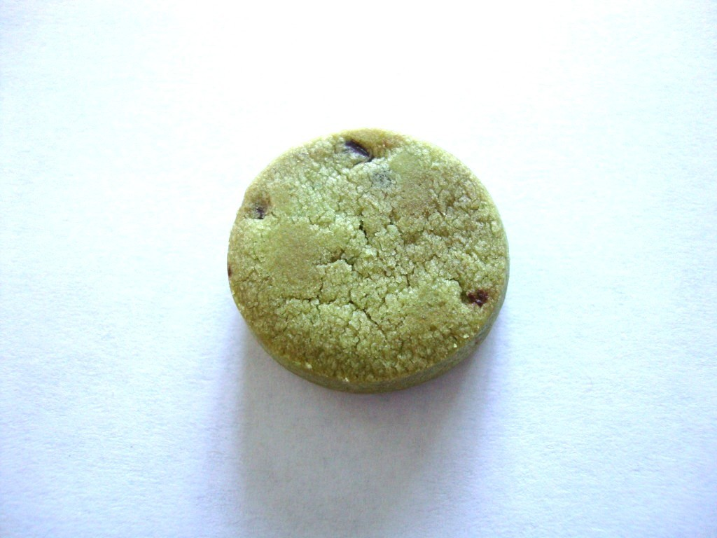 Bourbon Petit Choco Chip Matcha Cookies